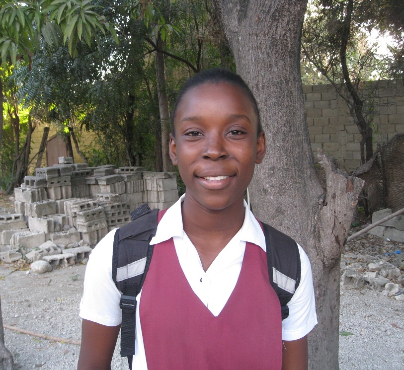 Rescue One Haitian School Girl